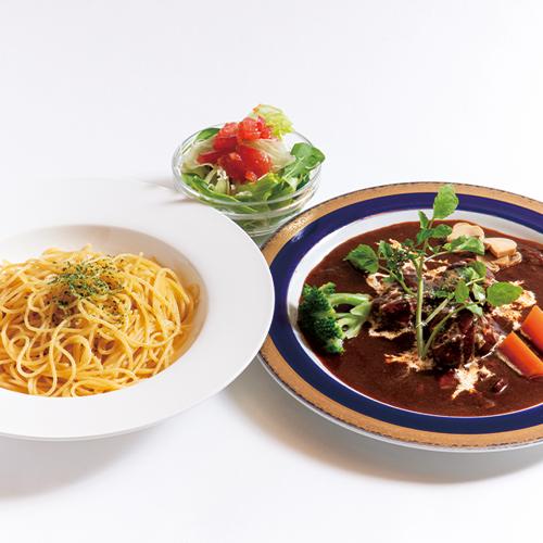上州牛と高崎野菜のビーフシチューパスタ